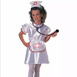 🆕 Rubie's NURSE Child Costume Small (4-6) Outfit